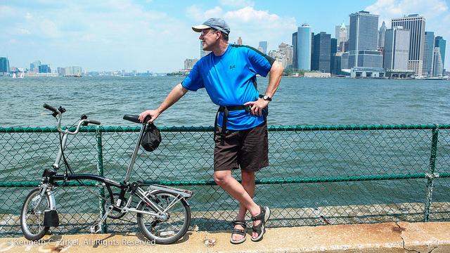 A Governor's Island é um dos pontos mais procurados por ciclistas (Foto: Ken Zirkel, no Flickr)