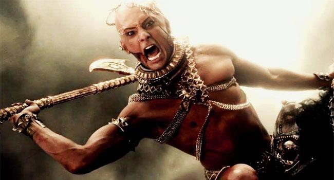 Rodrigo Santoro retoma o papel do rei persa Xerxes em 300 - A Ascensão do Império