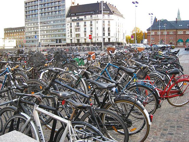As bikes fazem sucesso na capital da Dinamarca (Foto: jill, no Flickr)