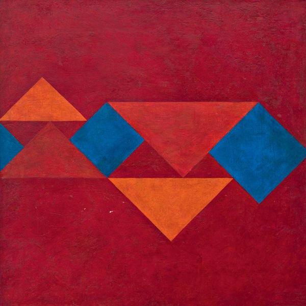 Tela de 1958: abstracionismo geométrico