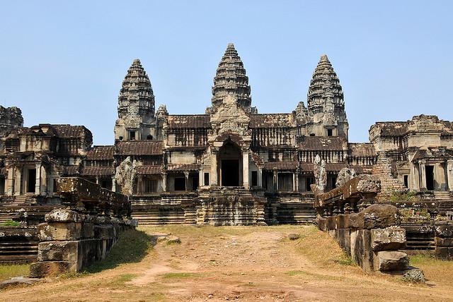 Templo é procurado por budistas e hinduístas (Foto: Dennis Jarvis, no Flickr)
