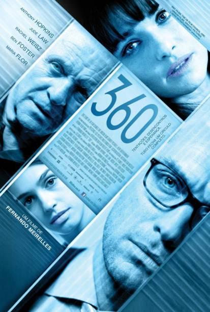 360: pôster do filme de Fernando Meirelles