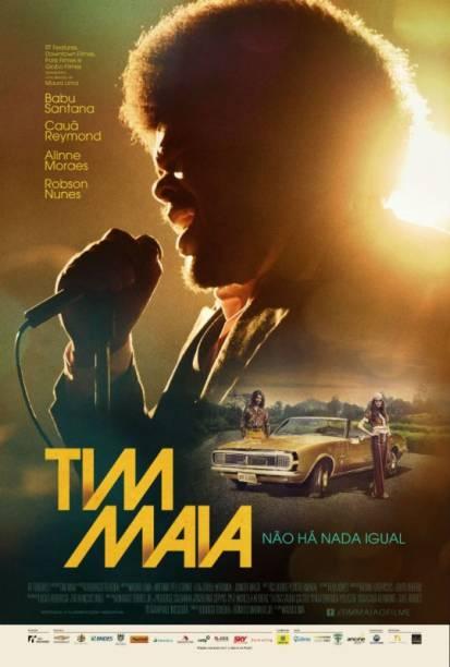 Tim Maia: pôster do filme