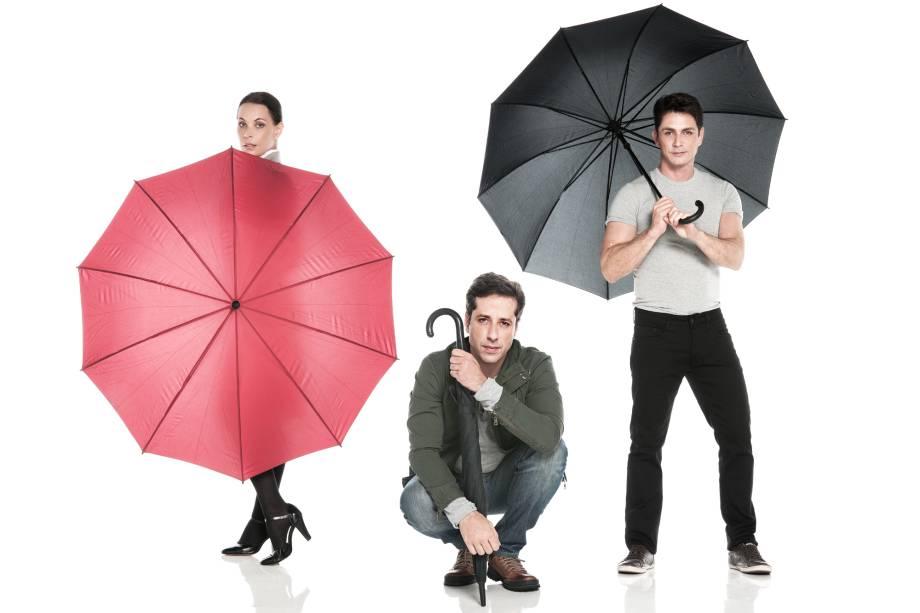 Três Dias de Chuva: apresentações no Teatro Sérgio Cardoso