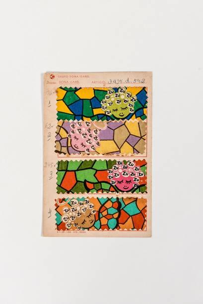 Mostra de tecido usado por Zuzu