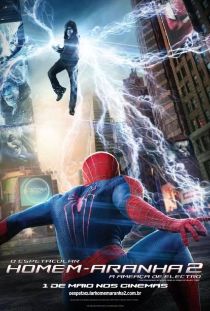 O Espetacular Homem-Aranha 2 - A Ameaça de Electro: pôster do filme