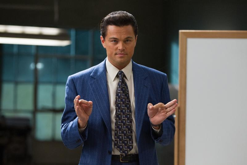 O Lobo de Wall Street: o ator Leonardo DiCaprio