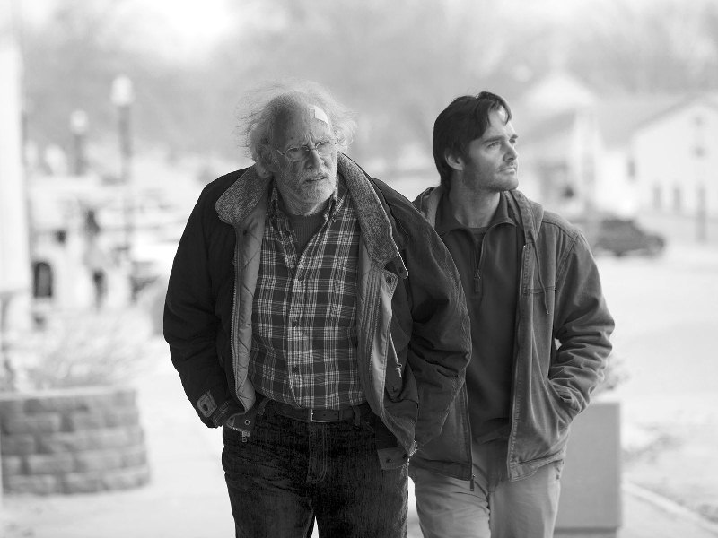 Nebraska: Bruce Dern e Will Forte, pai e filho atrás de 1 milhão de dólares