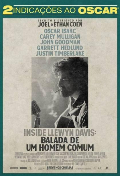 Inside Llewyn Davis – Balada de um Homem Comum: pôster do filme