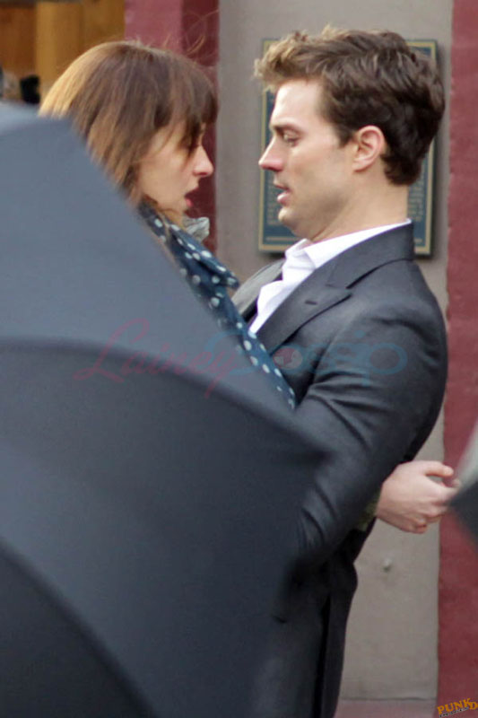 Chemistry growing on-set of 50 Shades of Grey