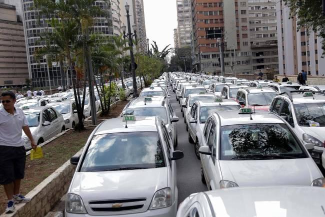 Protesto Uber