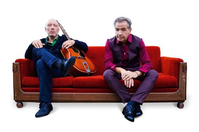 Edgard Scandurra e Nasi (Foto: Gabriel Braga)