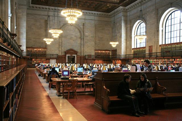 A clássica Biblioteca Pública de Nova York (Foto: vincent desjardins, no Flickr)