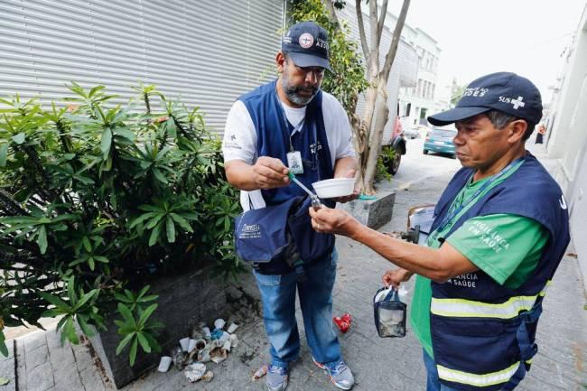 Agentes no combate à dengue
