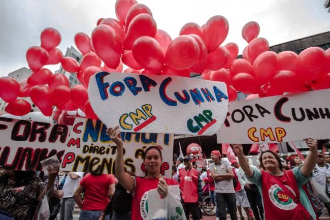 Protesto Paulista Dilma Cunha