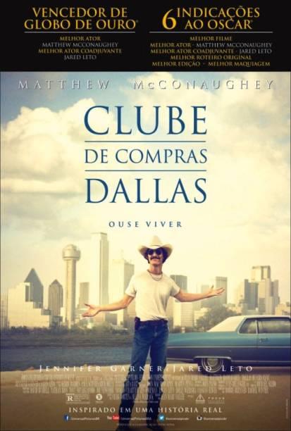 Clube de Compras Dallas: pôster do filme