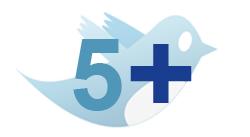 5 mais do Twitter