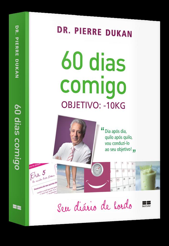 O livro é um diário de bordo e ajuda mulheres a perder 10kg em incríveis 60 dias (Foto: Divulgação)
