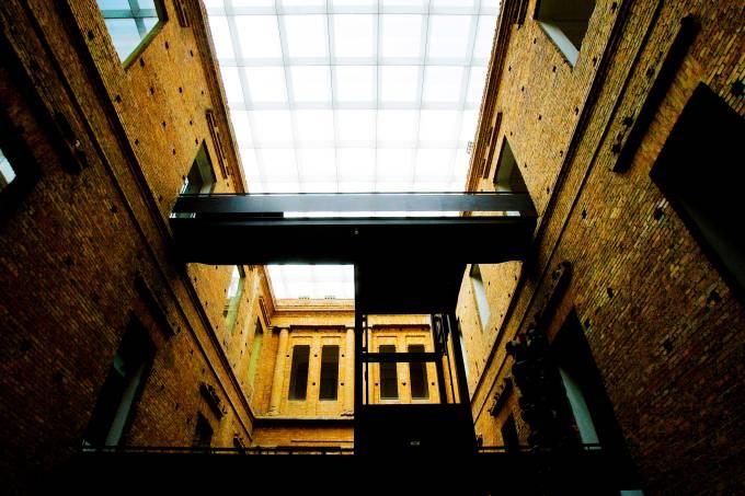 Por dentro da Pinacoteca, Praça da Luz-  FOTO IVAN DIAS
