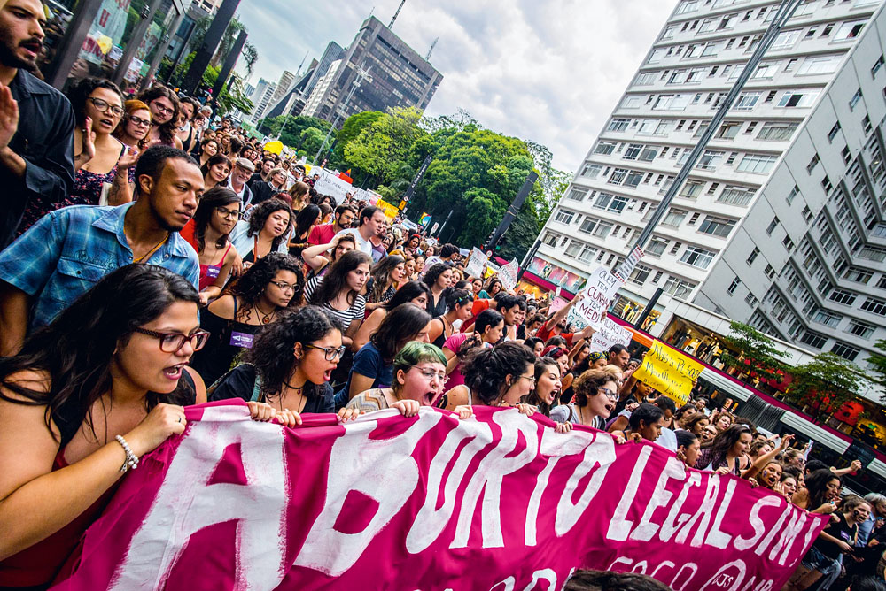 Aborto - Manifestação