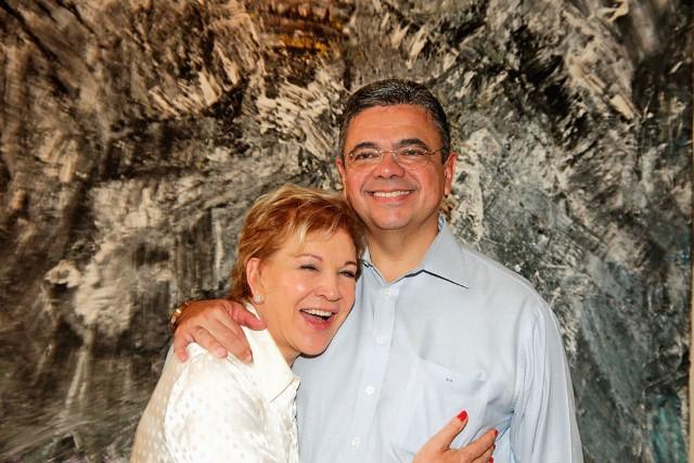 Marta e o marido, o empresário Márcio Toledo (Foto: Greg Salibian/Folhapress)