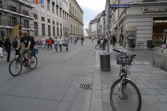 Munique tem mais de mil quilômetros de ciclovias (Foto: veroyama, no Flickr)