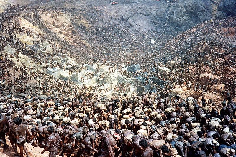 Serra Pelada - A Lenda da Montanha de Ouro: dez anos de filmagens