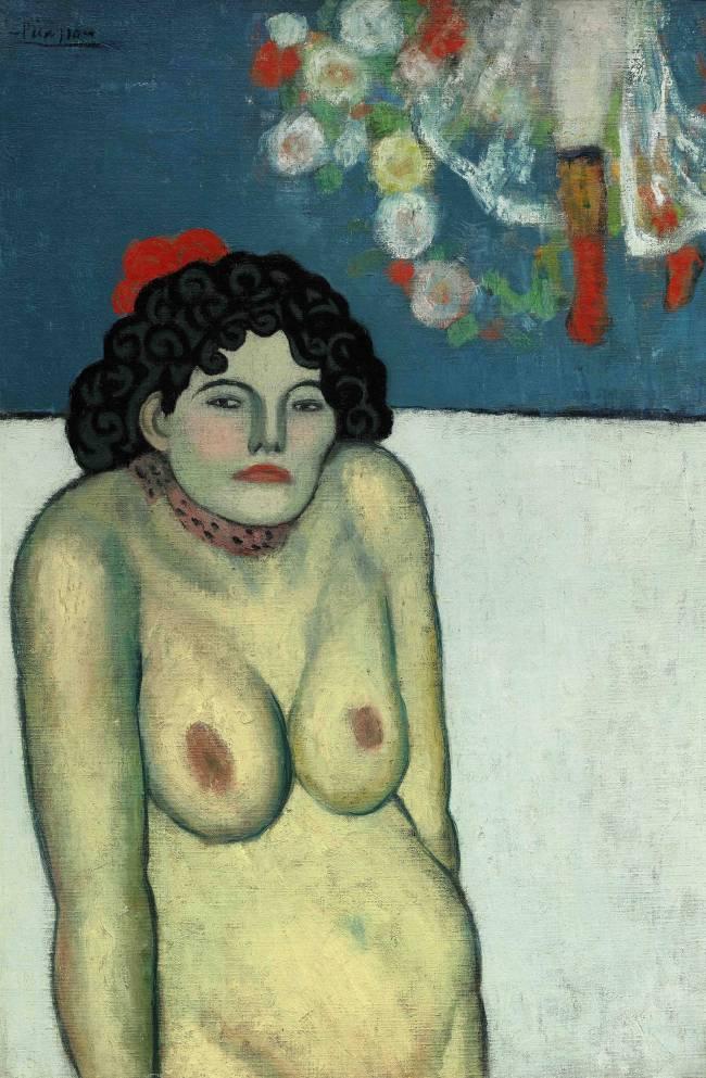 Picasso_La Gommeuse