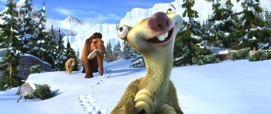 O tigre Diego, o mamute Manny e o preguiça Sid: trio de amigos estão de volta em A Era do Gelo 4
