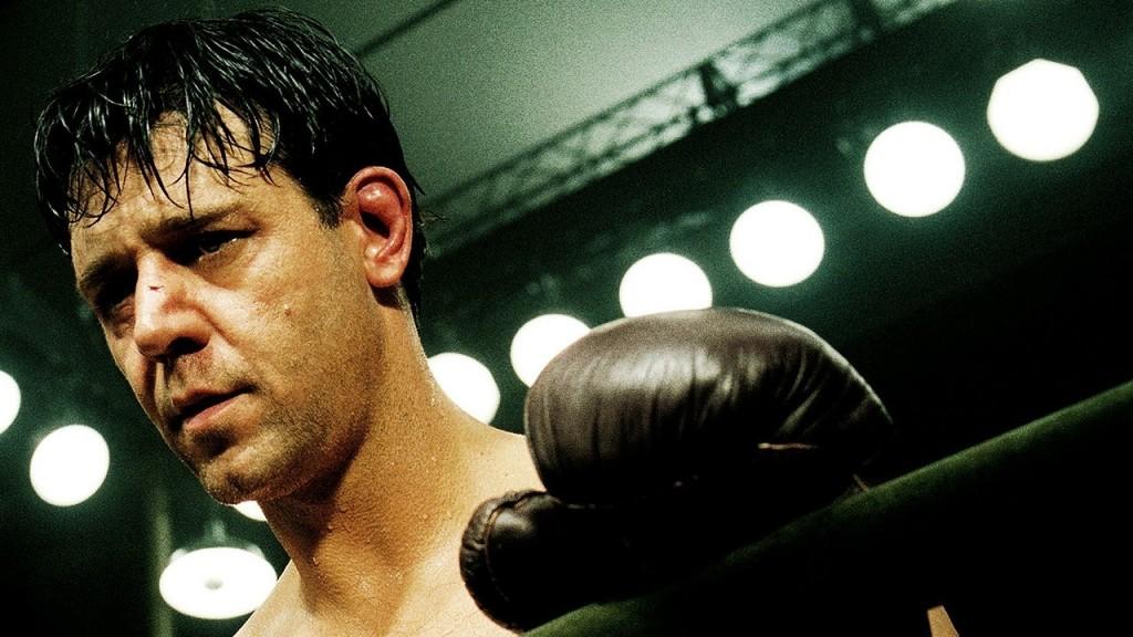 A Luta pela Esperança (2005): Crowe também entrou no ringue para lutar boxe