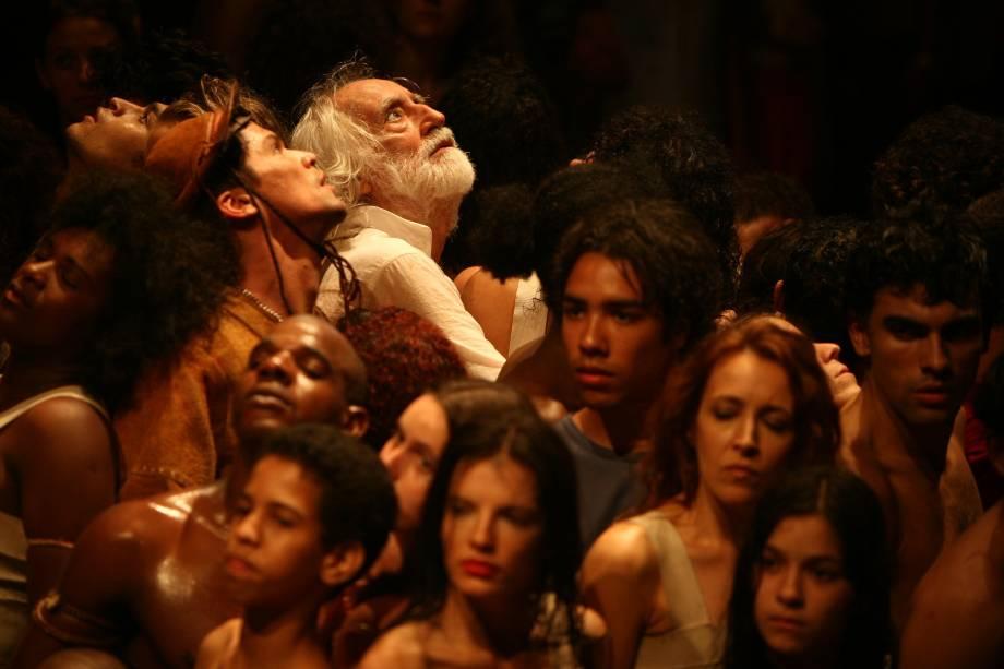 Os Sertões: a montagem teatral dirigida por Zé Celso ganha lançamento em DVD com exibições de segunda (27/09) a sexta (01/10) no Cine Livraria Cultura