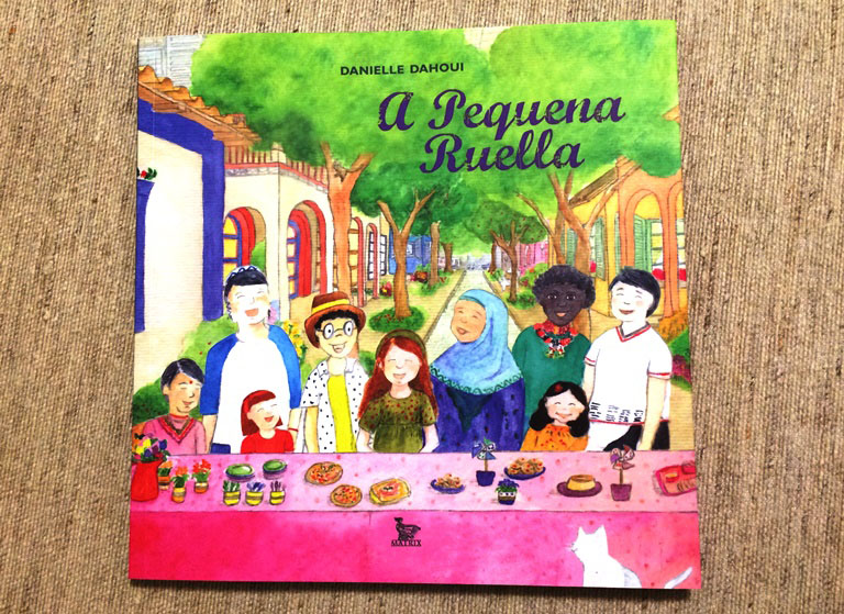 Festa na ruazinha: estreia de Dahoui na literatura infanto-juvenil