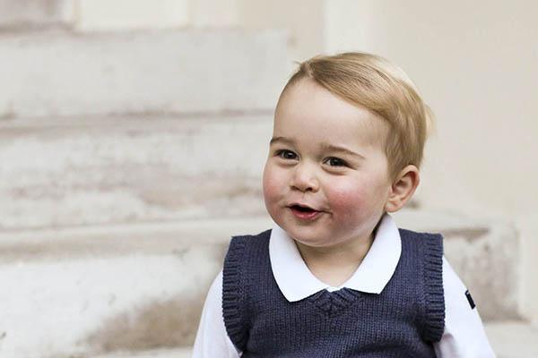 Prince George, Kensington Palace, London, Britain – 13 Dec 2014