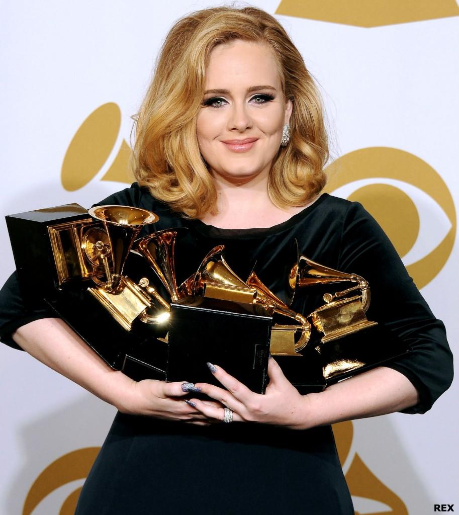 Em 2012, quando ganhou o Grammy