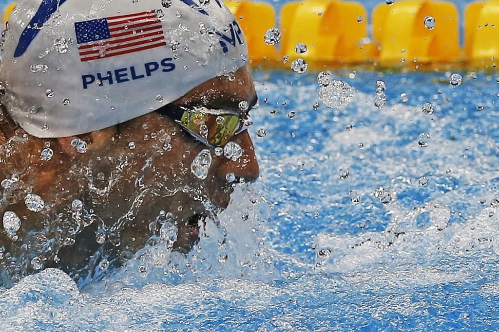 Michael Phelps nos jogos do Rio (Foto: Fernando Gomes/AGIF/Estadão Conteúdo)