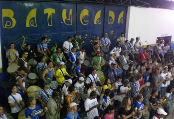 Ensaio da escola de samba Águia de Ouro
