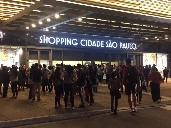 Shopping Cidade São Paulo e praça do estabelecimentos serão pontos de entrega de miojo no pote (Foto: Divulgação)