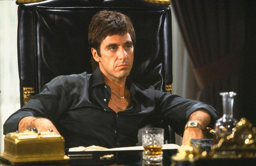 Al Pacino é Scarface: dias 22, 23 e 26 de novembro