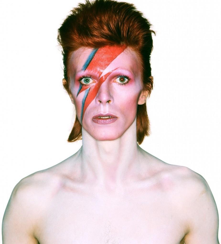 David Bowie como Alladin Sane: tema de festa no Inferno Club
