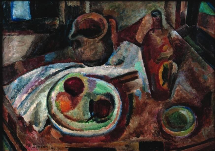 Núcleo, de Aldo Bonadei: natureza-morta de 1945 é influenciada pelo trabalho de Paul Cézanne
