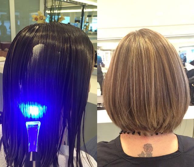 O alisamento com laser é sucesso entre as mulheres (Foto: Reprodução)