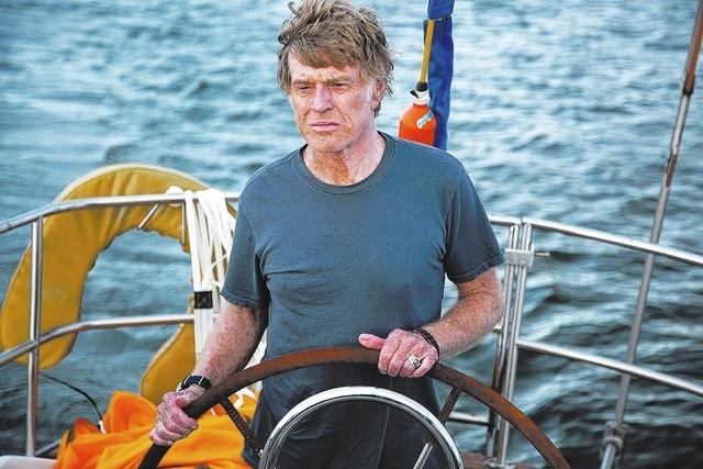 Robert Redford foi esnobado na categoria de melhor ator, mas Até o Fim está no páreo para melhor mixagem de som