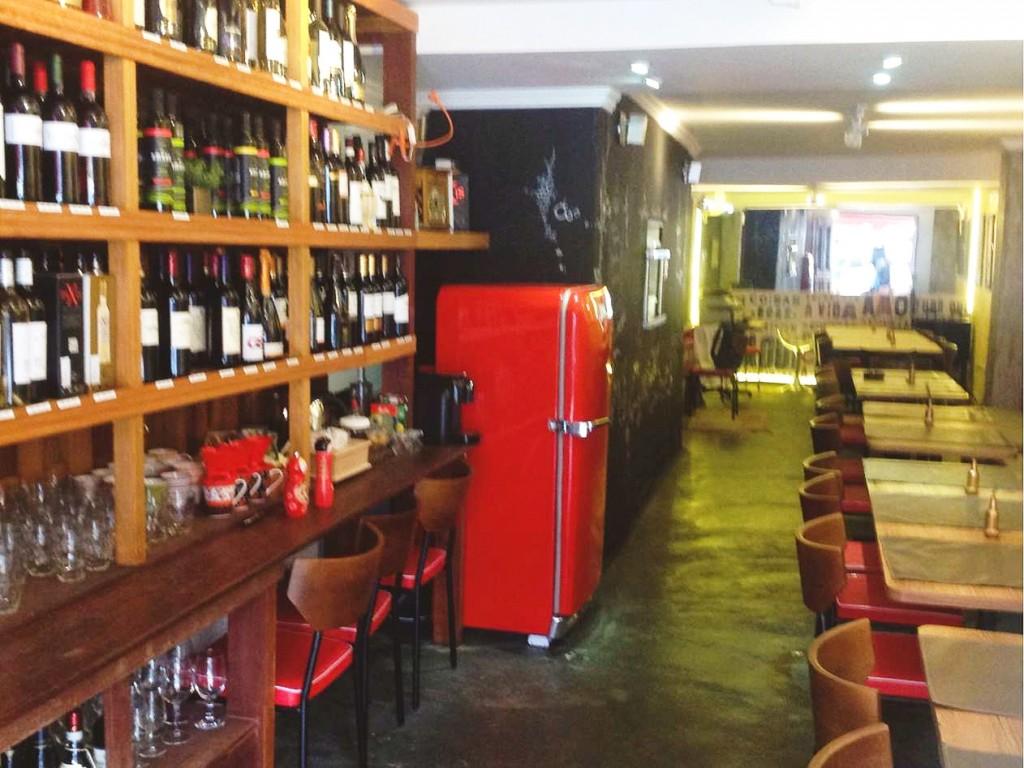 Alma Cozinha: antiga garagem transformada em restaurante e armazém fino