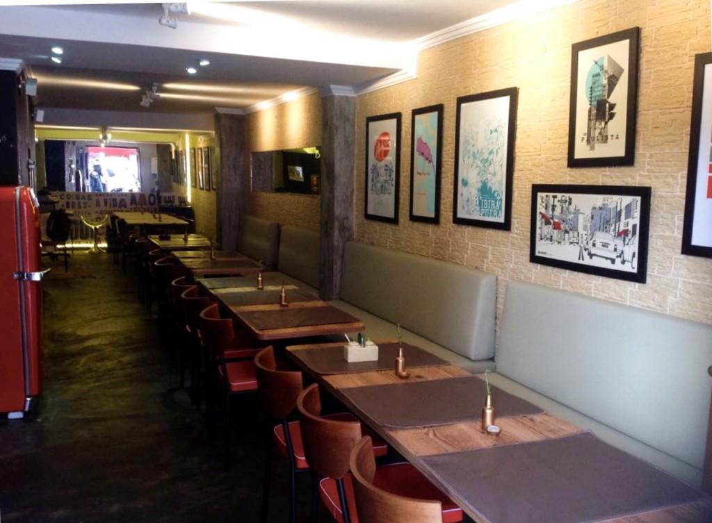 Restaurante: na primeira fase, servirá apenas para o jantar
