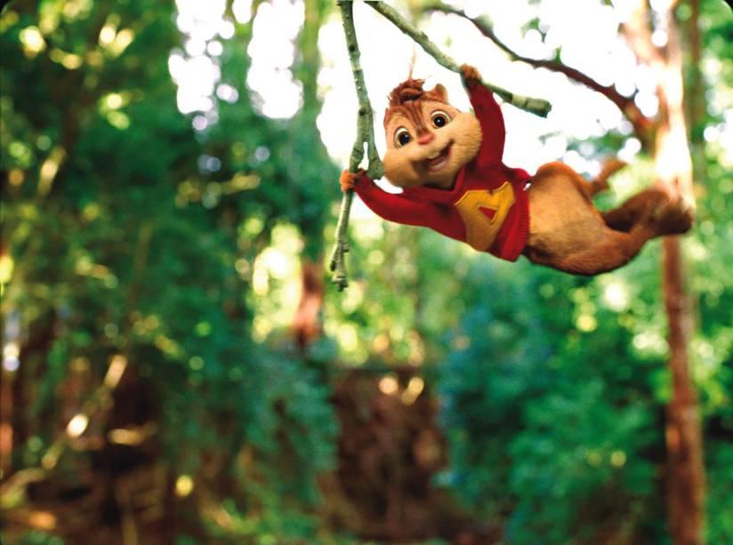 Alvin e os Esquilos 3: covers de músicas pop e muita aventura estão nesta animação
