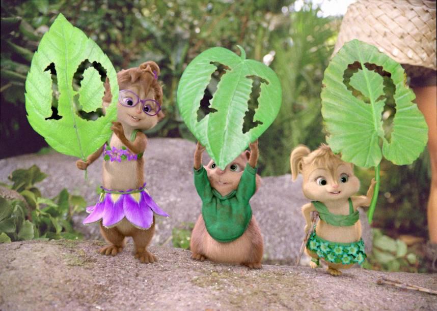 Alvin e os Esquilos 3: comédia infantil mira só na criançada