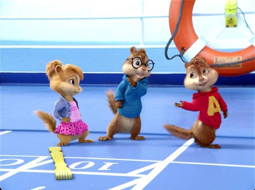 Alvin e os Esquilos 3: terceira animação sobre os simpáticos roedores cantores
