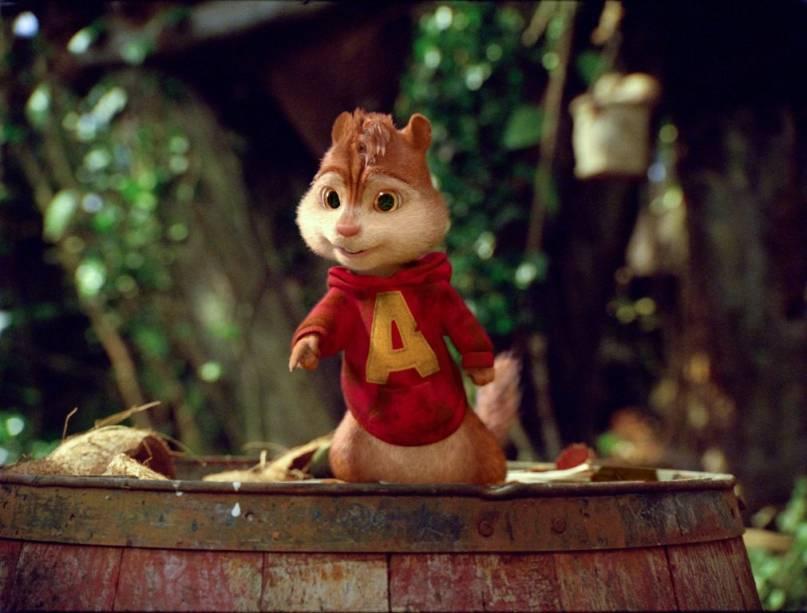 Alvin e os Esquilos 3: roedores vão parar em uma ilha