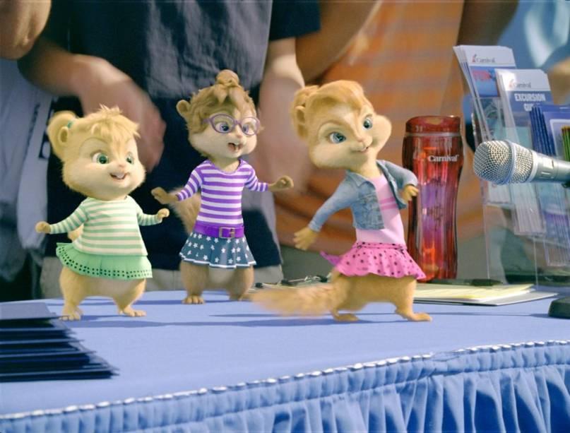 Alvin e os Esquilos 3: esquiletes estão de volta