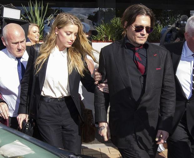Amber Heard e JOhnny Depp: divórcio conturbado